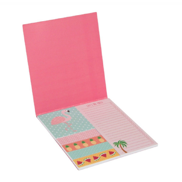 Tropical Pink Flamingo Summer Sticky Note Set by Sass & Belle